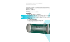 Model CHC-OXI - REC-A - Low Load Activated Sludge WWTP - Datasheet