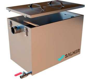 SALHER - Model CG-MAN - Grit Chambers and Grease Separators