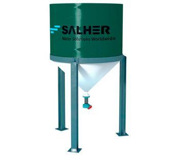 SALHER - Model CVA-E-TC - Sludge Thickener