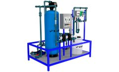 Salher - Model PUR-F - Compact Water Purification Plants for Water with Low Pollutant Load