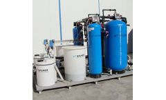 SALHER - Model PUR-FQFF-CA - Compact Water Purification Plants through Filtration with Organic Matter Load