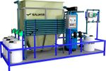 SALHER - Model PUR-FQLF - Compact Water Purification Plants Through Filtration