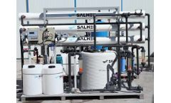 SALHER - Model PUR-MAXIRO - Compact Purification Plants Through Reverse Osmosis Technology