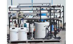SALHER - Model PUR-MAXIRO - Compact Purification Plants Through Reverse Osmosis Technology