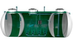 SALHER - Model CHC-FS-OXIDEP - Low-Load Activated Sludge Treatment Plant