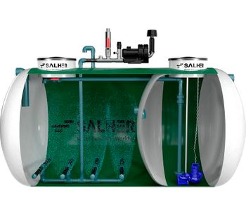 Low-Load Activated Sludge Water Treatment Plant-2