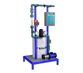 SALHER - Model SAL-PLU - Rainwater Treatment Equipment
