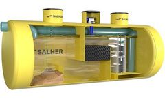 Salher - Model CHC-SH-L-X-K - Coalescing Oil Separator