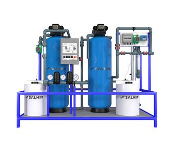 SALHER - Model LAVA-E - Industrial Wastewater from Automatic Vehicle Cleaning Systems Compact Plants