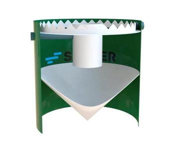 SALHER - Model CVA-DC-TC - Truncated Cone Shape Settlers