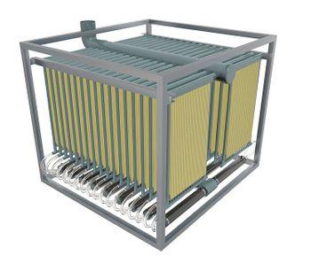SALHER - Model CHC-OXI-MBR - Membrane bioreactor (MBR)