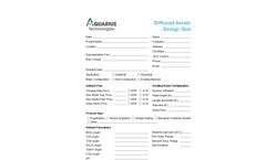 Aquarius - Model EPDM - Standard Membrane Disc Diffusers Brochure