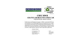 CSEC 830 R Granular Reactivated Carbon Brochure