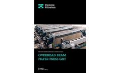 Diemme - Model GHT - Filtration Overhead Beam Filter Press Brochure