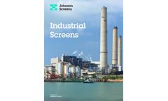Johnson Screens - Resin Traps Brochure