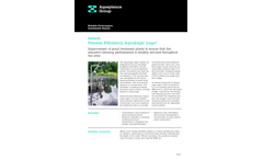 Aqualogic Lago - Nitrification/Denitrification Plant Brochure