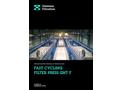 Diemme - Model GHT-F - Filtration Fast-Ccycling Filter Press Brochure