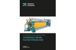 Diemme - Model GHS - Filtration Overhead Beam Filter Press Brochure