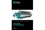 Diemme - Model ME - Filtration Side Beam Filter Press Brochure