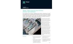 Geiger - High-Capacity Drum Screens Brochure