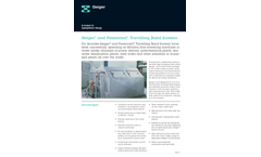 Geiger - Dual-Flow (Out-to-In-Flow) Travelling Band Screens Brochure