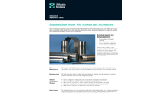 Johnson Screens - Stainless Steel Column Pipe for Potable Water Brochure