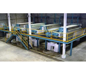 Diemme - Model ITA - Filtration Side Beam Automat Filter Press