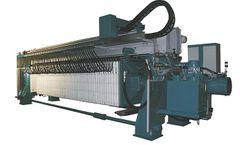 Diemme - Model GHS - Filtration Overhead Beam Filter Press