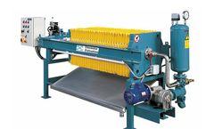 Diemme - Model KE - Filtration Side Beam Filter Press