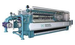 Diemme - Model ME - Filtration Side Beam Filter Press