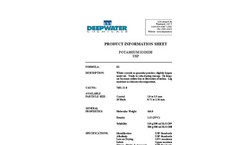 Inorganic Iodides - Potassium Iodide USP Brochure