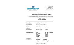 Catalysts - Ethyl Triphenylphosphonium Acid Acetate (ETPPAAc) Brochure