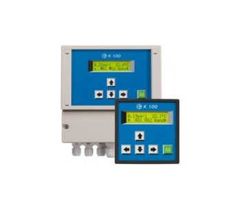 Model K 100 (W) DES - High-Quality Single-Channel Measuring and Control System