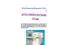 AES - Model 1000 - Optical Emission Spectrometer