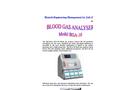 Model BGA-10 - Blood Gas Analyser
