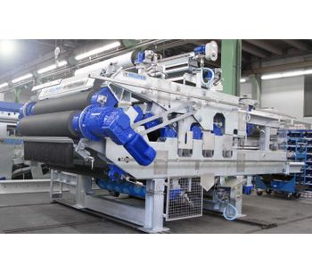 WinklePress - Model H - High Pressure Dewatering Press