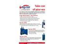 Ag-mac - Large Waste Balers - Datasheet