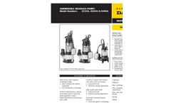 Vortex - Sump Pumps Brochure