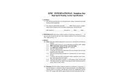 Aerator Specification (PDF 46.4 KB)