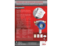Alter - Model MGX-70 & GDX-70 - Measuring /Detection Heads Systems Brochure