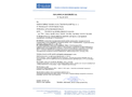 Alter - Model TSZ-4D - Acoustic Optical Siren Alarm Systems Brochure