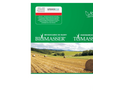 BIOMASSER - Briquetting Presses and TOMASSER - Shredder for Straw - Polish(ulotka) Brochure