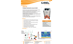 Cimel - Model CE376 - Micro LiDAR System - Brochure