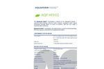 Aquaporin - Model AQP HFFO2 - Hollow Fiber FO Membrane Modules - Datasheet