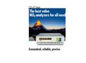 ECO PHYSICS CLD 60 Series Nitrogen Oxide Analyzers - Brochure