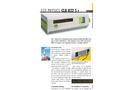 ECO PHYSICS - Model CLD 822 S r - Nitrogen Oxide Analyzer - Brochure