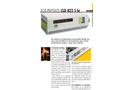 ECO PHYSICS - Model CLD 822 S hr - Nitrogen Oxide Analyzer - Brochure