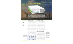 Eco Physics - Model nCLD 822 Mhr - Modular Gas Analyzer - Brochure