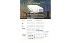 Eco Physics - Model nCLD 822 CMhr - Modular Gas Analyzer - Brochure