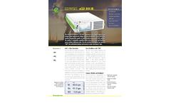 Eco Physics - Model nCLD 844 M - Modular Gas Analyzer - Brochure